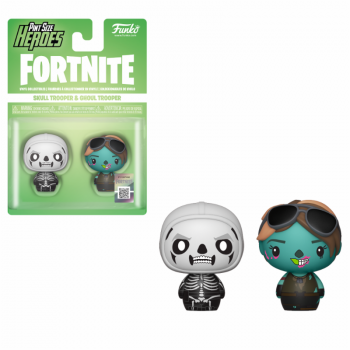 Funko Pint Sized Heroes Fortnite - Skull Trooper & Ghoul Trooper