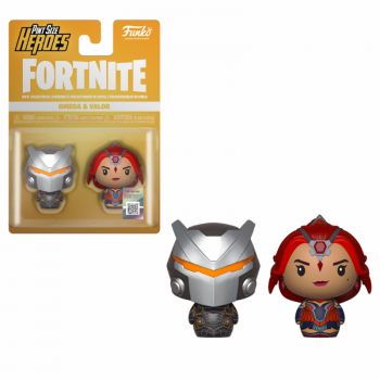 Funko Pint Sized Heroes Fortnite - Omega & Valor