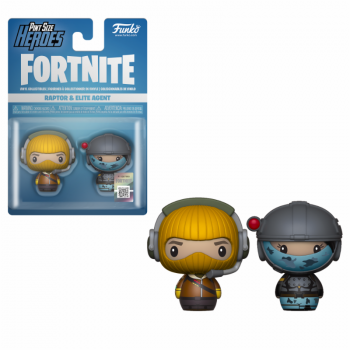 Funko Pint Sized Heroes Fortnite - Raptor & Elite Agent
